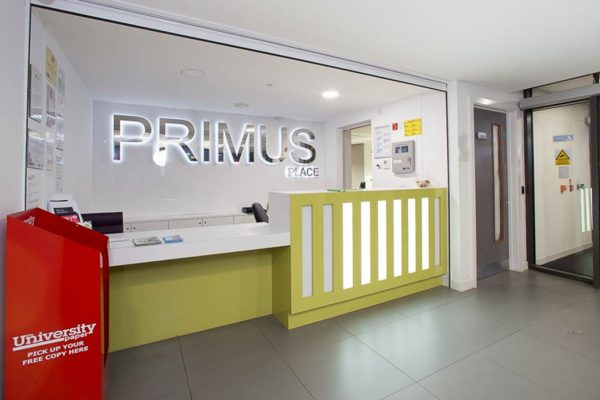 Primus Place student accommodation Leicester