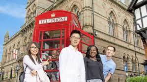 International students Chester Univeristy